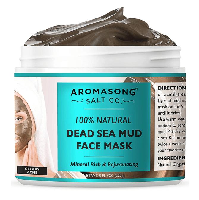 Maschera di fango del Mar Morto puro e naturale al 100%