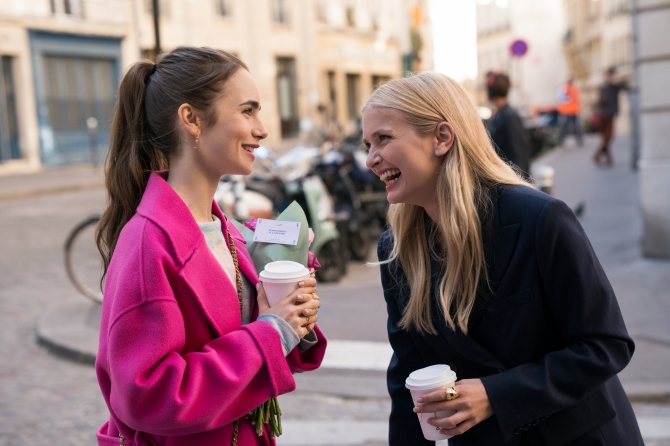STYLECASTER | Camille Emily In Paris