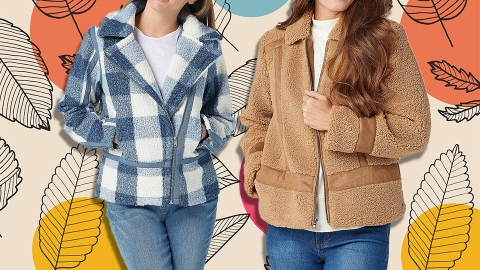 Just A Round-Up Of Shearling Coats To Complete Your Fall OOTDs | StyleCaster