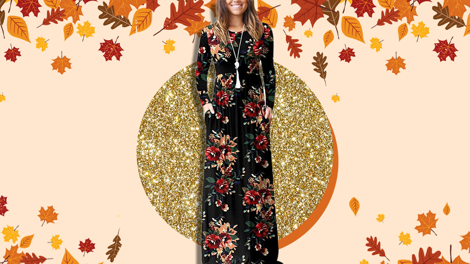 Amazon Shoppers Are Obsessed With This $30 Fall Maxi Dress