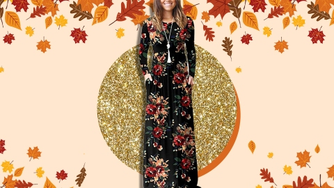 Amazon Shoppers Are Obsessed With This $30 Fall Maxi Dress | StyleCaster