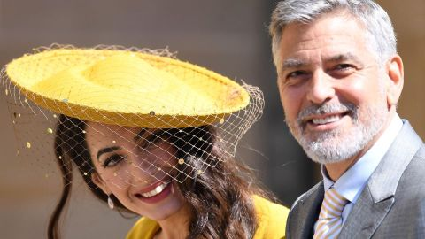 George & Amal Clooney Didn't Know Prince Harry & Meghan Before Attending Their Wedding | StyleCaster