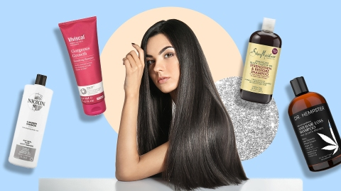 The Best Shampoos For Hair Growth That'll Give You Kim K-Length Strands | StyleCaster