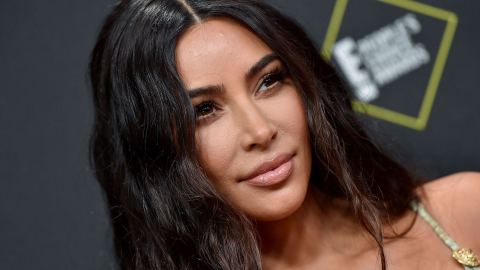 Kim Kardashian Modeled The Latest SKIMS Collection By Eating 20 Waffles & I Feel Seen | StyleCaster
