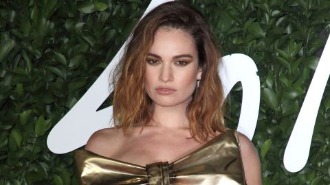 Lily James Was 'Shocked' After Dominic West Denied Cheating on His Wife | StyleCaster