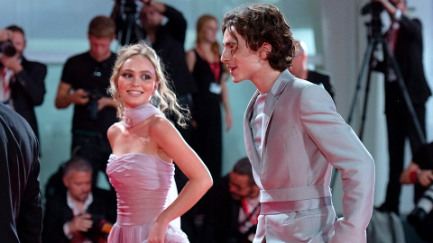 Timothée Chalamet Says He Was 'Embarrassed' Over Those Lily-Rose Depp Make Out Photos   StyleCaster