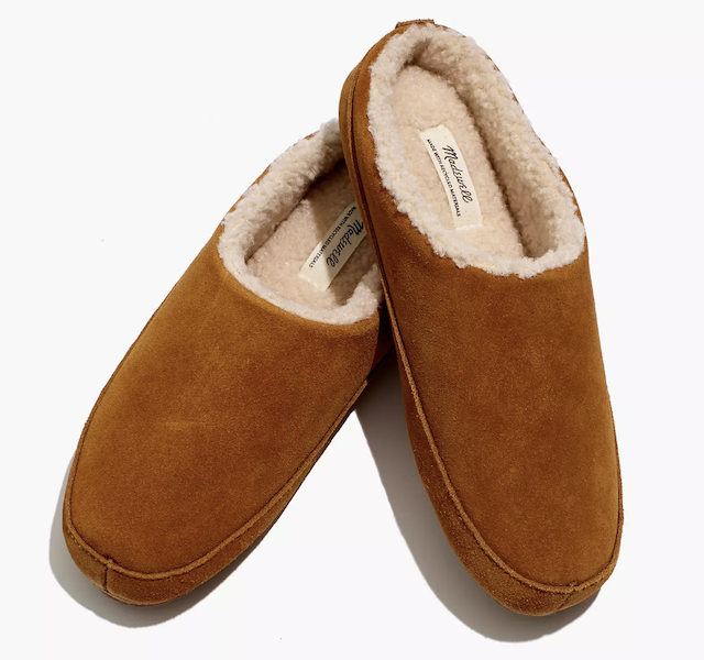 madewell scuff slippers 50 Comfy Slippers Under $50 That'll Make You Forget Real Shoes Even Exist
