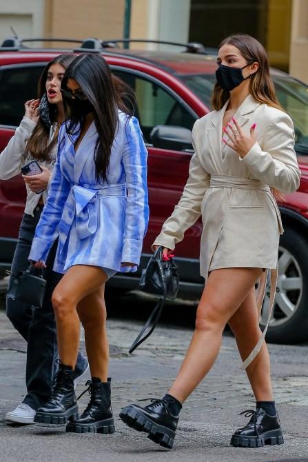 STYLECASTER   kourtney Kardashian Addison rae