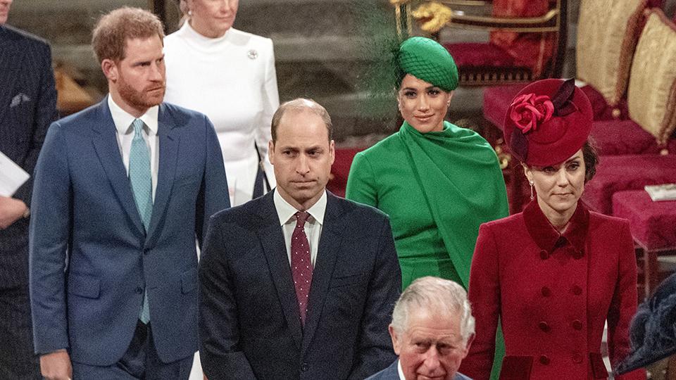 Meghan Markle, Prince William, Prince Harry, Kate Middleton