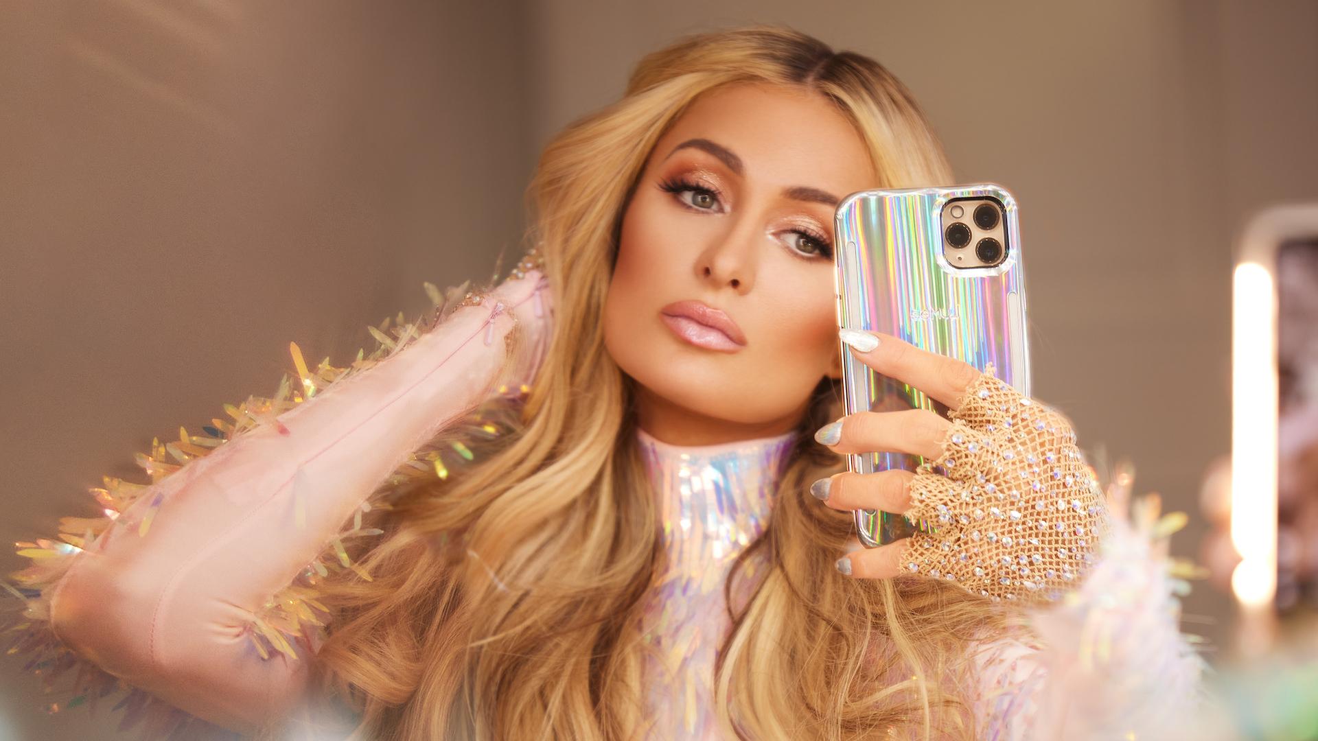 I'm Sliving For Paris Hilton's Holographic LuMee Phone Case Collab