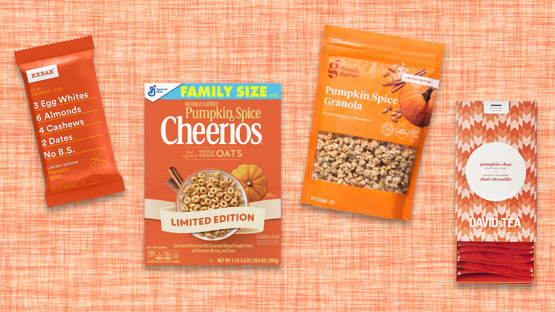 13 Pumpkin Spice Foods You Can Buy Right Now To Accompany Your PSLs