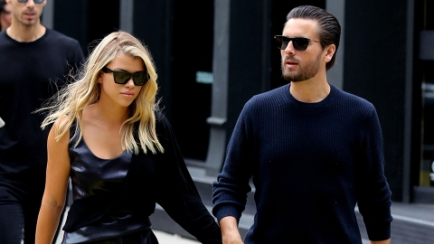 Sofia Richie Ran Into Scott Disick at Kendall Jenner's Party & Here's How That Went | StyleCaster