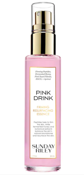 sunday riley pink drink firming resurfacing essence No Trick: The Sephora VIB Sale Is Your Halloween Treat