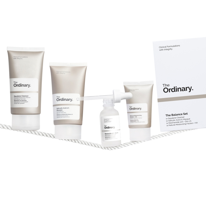 The Ordinary Balance Set Is Coming for Your Maskne | StyleCaster