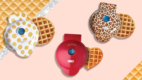 TikTokers Are Using This Mini Waffle Maker In Totally Unexpected Ways | StyleCaster
