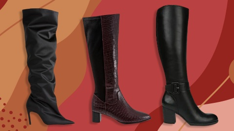 I Made It My Mission To Find Wide-Calf Boots That Are Actually Cute | StyleCaster