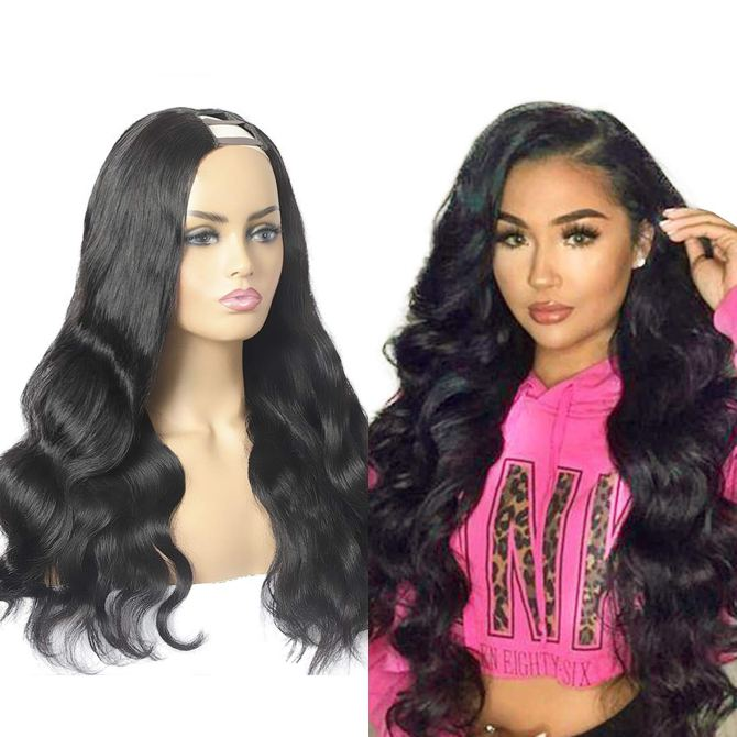 ALIMICE upart human Brazilian Density All The Wigs & Extensions You Could Need Are On Major Sale Right Now
