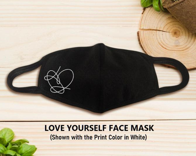 """BTS """"Love Yourself"""" Face Mask"""