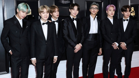 BTS Had the Best Reaction to Their Historic First-Ever Grammy Nomination | StyleCaster