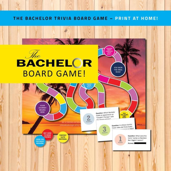Bachelor Board Game