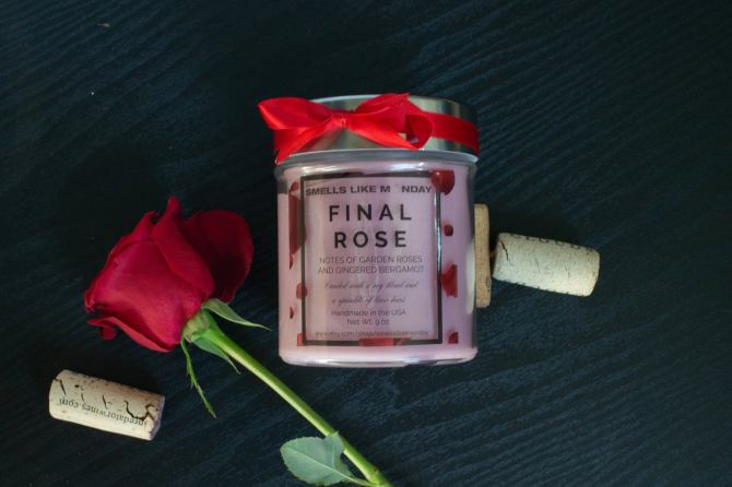 Final Rose-Scented Candle