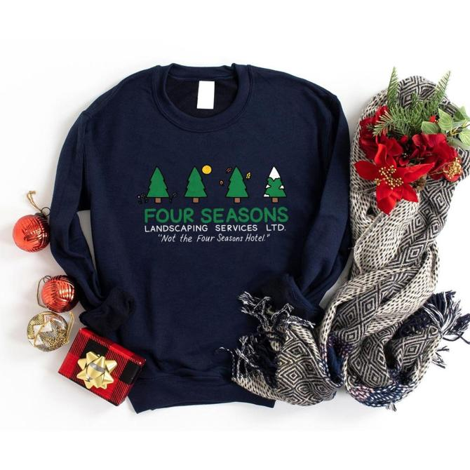 Four Seasons Total Landscaping Holiday Sweater