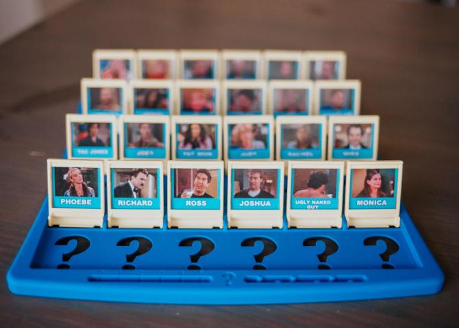 'Friends' Guess Who Game