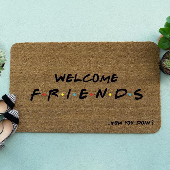 'Friends' Welcome Mat