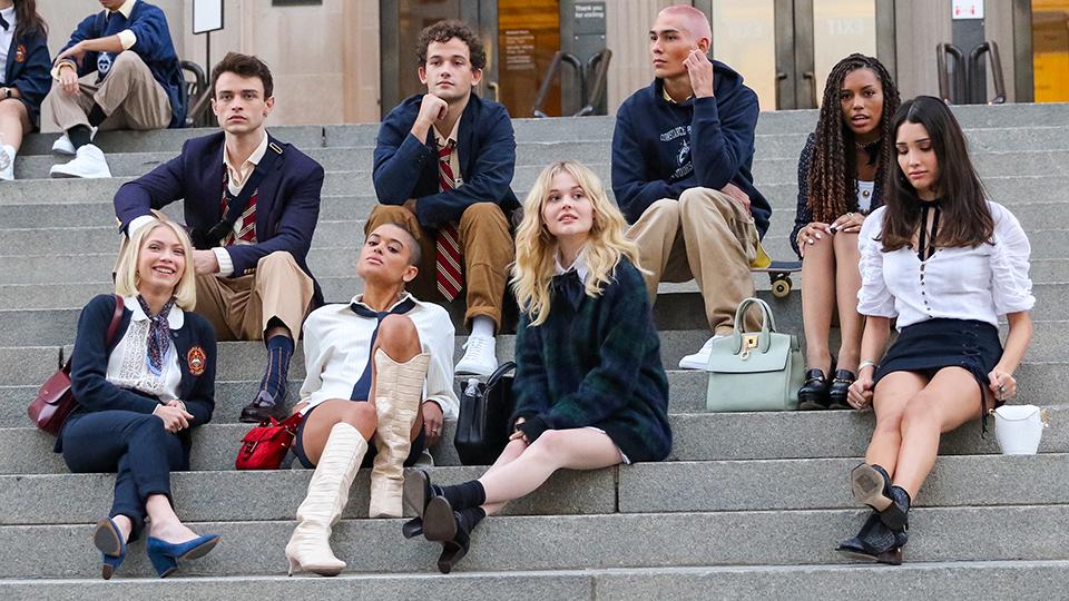 """""""Gossip Girl"""" HBO Max Cast"""