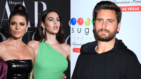 Lisa Rinna Just Broke Her Silence on Scott Disick Dating Her 19-Year-Old Daughter | StyleCaster