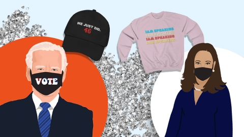 The Best Biden/Harris Merch To Commemorate Their Historic Win | StyleCaster