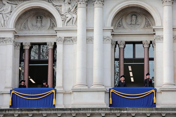 Kate Middleton, Queen Elizabeth II Remembrance Sunday