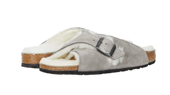 Screen Shot 2021 01 25 at 7.29.00 PM Fuzzy Birkenstocks Are the Shearling Shoes Thatll Get You Through This Winter