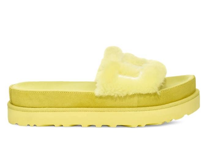 Ugg Laton Genuine Shearling Sandal