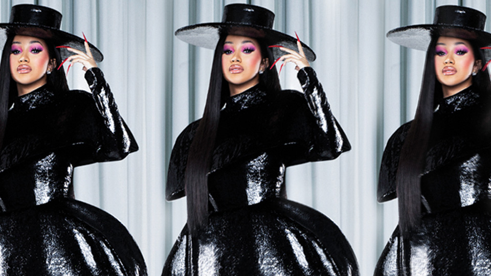 Cardi B Wore A Gown Made Of Hair Extensions & I Have So Many Questions | StyleCaster
