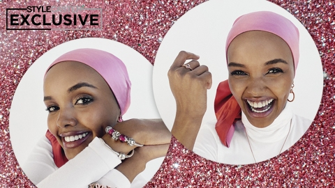 Halima Aden Gets Real About 2020, From Highs & Lows To DIY Face Masks | StyleCaster