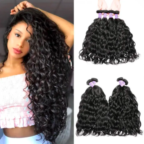 hurela hair 4 bundles brazilian natural wave All The Wigs & Extensions You Could Need Are On Major Sale Right Now