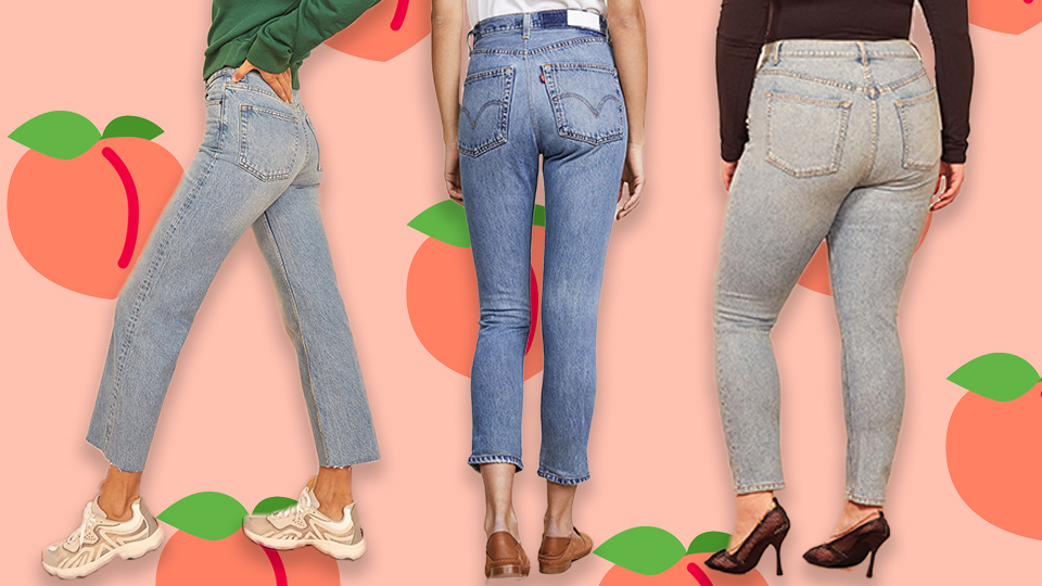 Vintage-Inspired Jeans That Lift Your Bum But Are Actually Comfortable