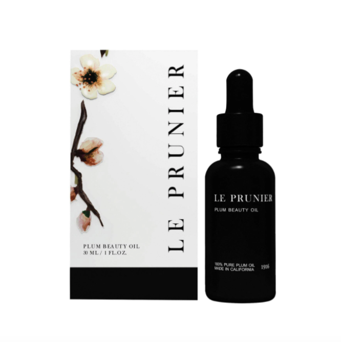 le prunier plum beauty oil PM Chrissy Teigen Revealed Her Magic Face Oil & I Need to Try It