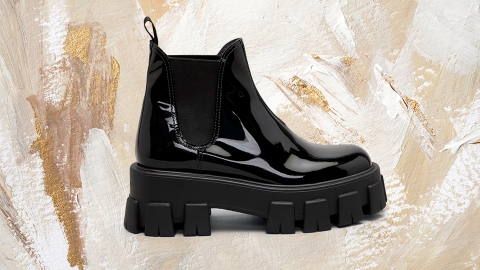 These Lug Sole Boots Serve Prada Vibes Without The Luxury Price Tag | StyleCaster