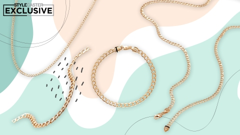 Mejuri's Flat Curb Chain Collection Is Equal Parts Trendy & Timeless | StyleCaster