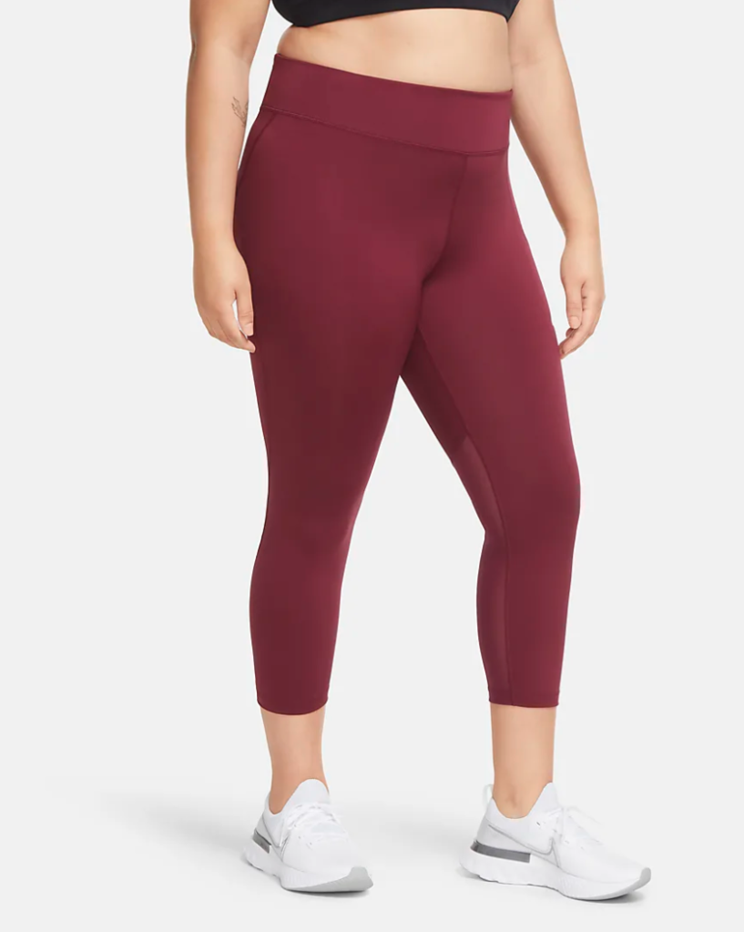 nike plus size running tights