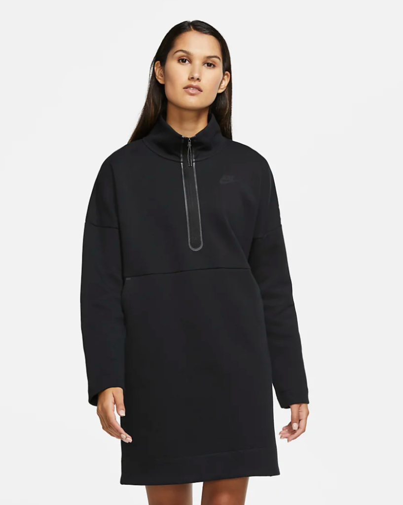 nike fleece dress