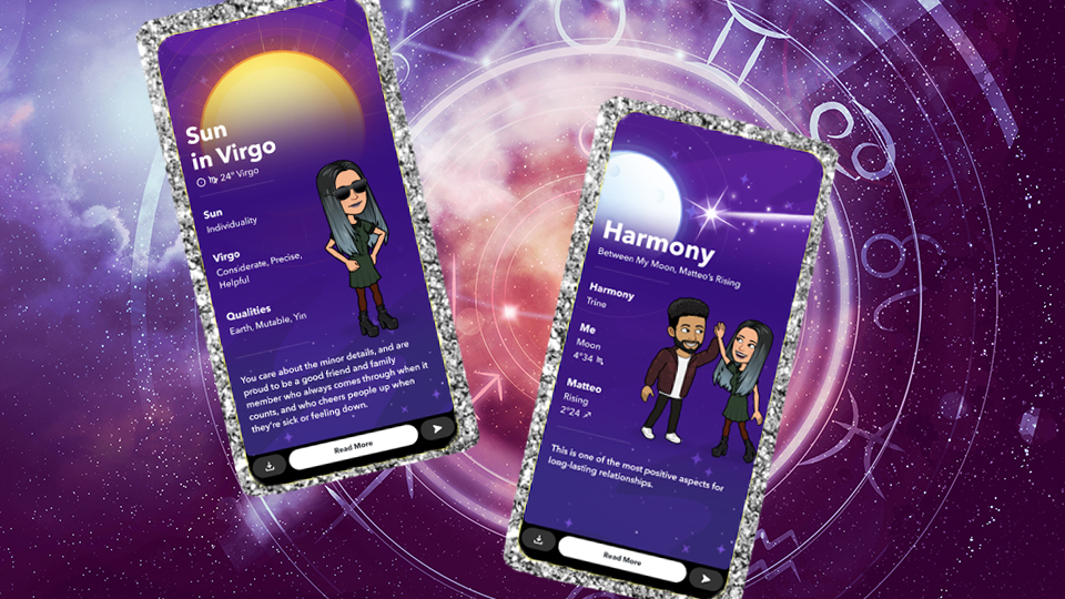 Snapchat's New Astrology Feature Lets You Stalk Your Crush's Sign