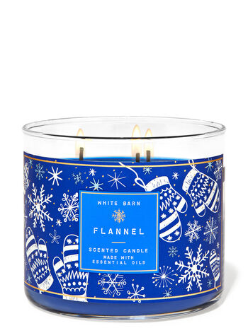 Bath & Body Works Flanellkerze