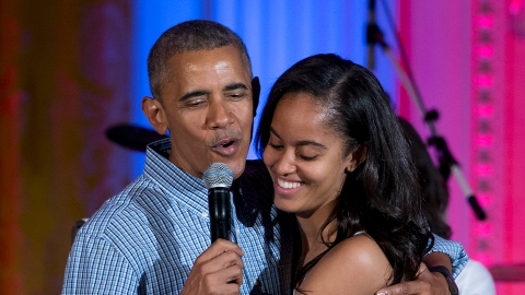 Barack Obama Quarantined With Malia's Boyfriend & Here's What He Thinks of Him | StyleCaster