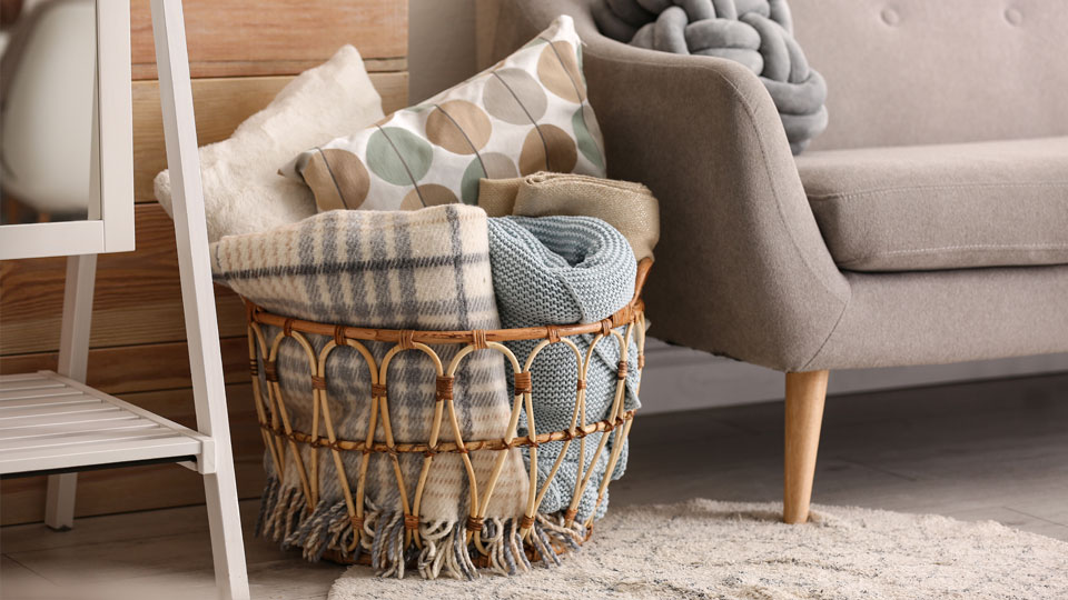 Blanket storage How to Store Your Winter Blankets When Youre Not Snuggling Up in Them
