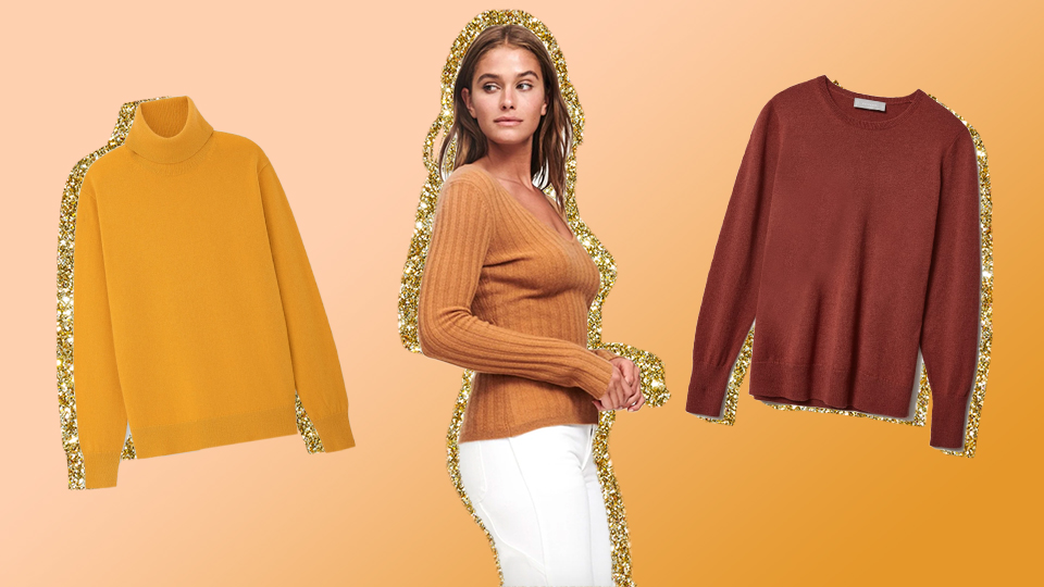 Cozy Cashmere Sweaters Under $100 You Can Totally Justify Buying
