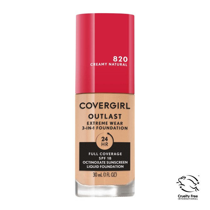Covergirl Outlast Extreme Wear 3 in 1 Full Coverage Liquid Foundation The Absolute Best Drugstore Beauty Products Coming in 2021