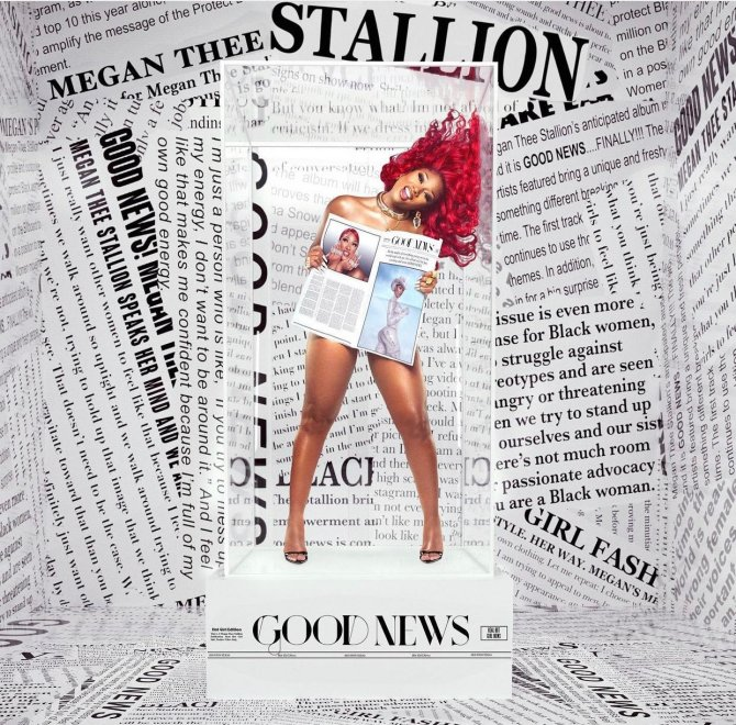 """Good News"" by Megan Thee Stallion"